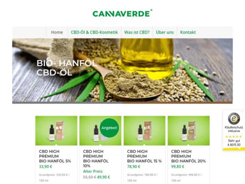 Cannaverde Shop