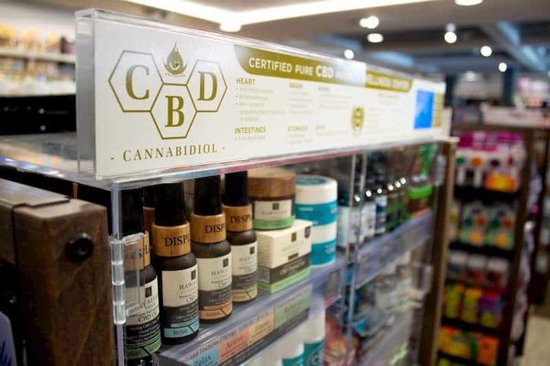 CBD-Produkte sind in Deutschland auch in Drogerien erhältlich